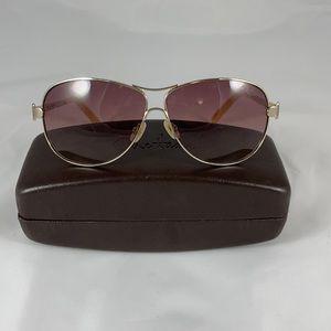 Cole Haan Aviator Sunglasses W/ Case